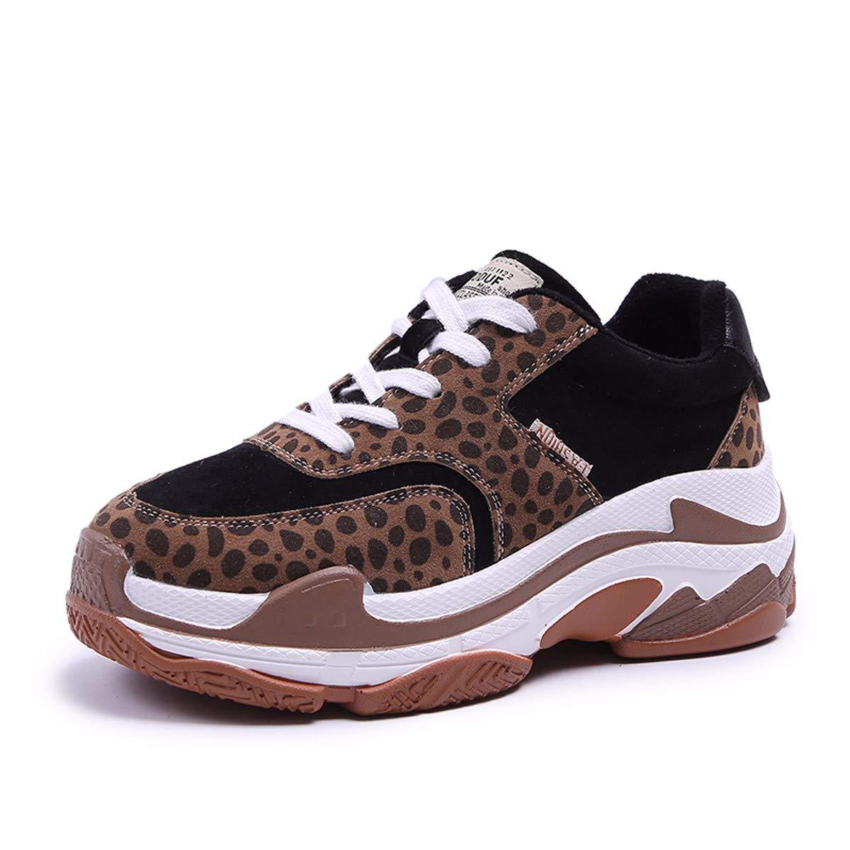 KPHY Damenschuhe/Im Herbst Im Inneren Ist Höher Der Boden Ist Größer Die Alten Schuhe Sind Dünn Die Studenten Die Den Sport Die Lässige Schuhe Und Die Schuhe.