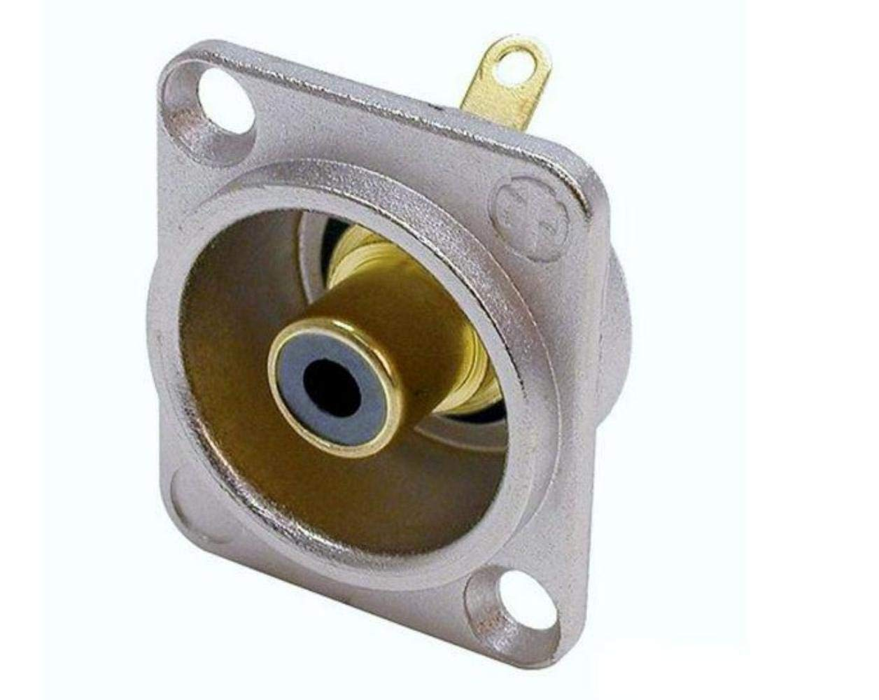 "4 Geniune Neutrik NP3X 1//4/"" 6.35 mm 3-Conductor TRS Phone Plug Nickel Contacts"