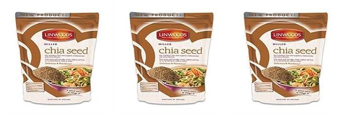Linwoods - Semillas de chía molidas (200 g): Amazon.es ...