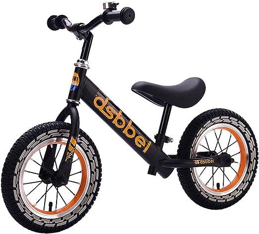 RR-Bike Bicicleta para Niños Nice Balance Scooter, Bicicleta para Niños Pequeños De 2,3,4,5,6 Años, Bicicleta Ligera para Niños, Bicicleta para Caminar para Niños ...