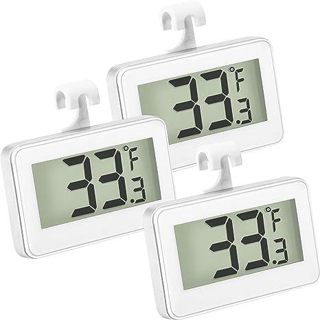 Termómetro del Refrigerador Termómetro Digital para Congelador ...