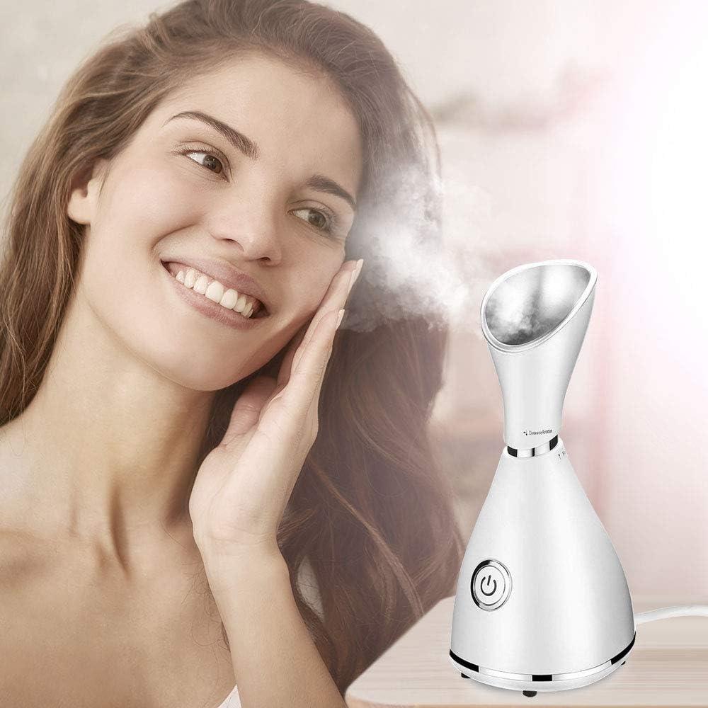 iKALULA Vaporizador Facial, Sauna facial Nano Facial SPA Vaporizador Profesional Aerosol de vapor Spray Cara Humidificador hidratantes Facial Sauna para el cuidado de la piel y la limpieza de poros