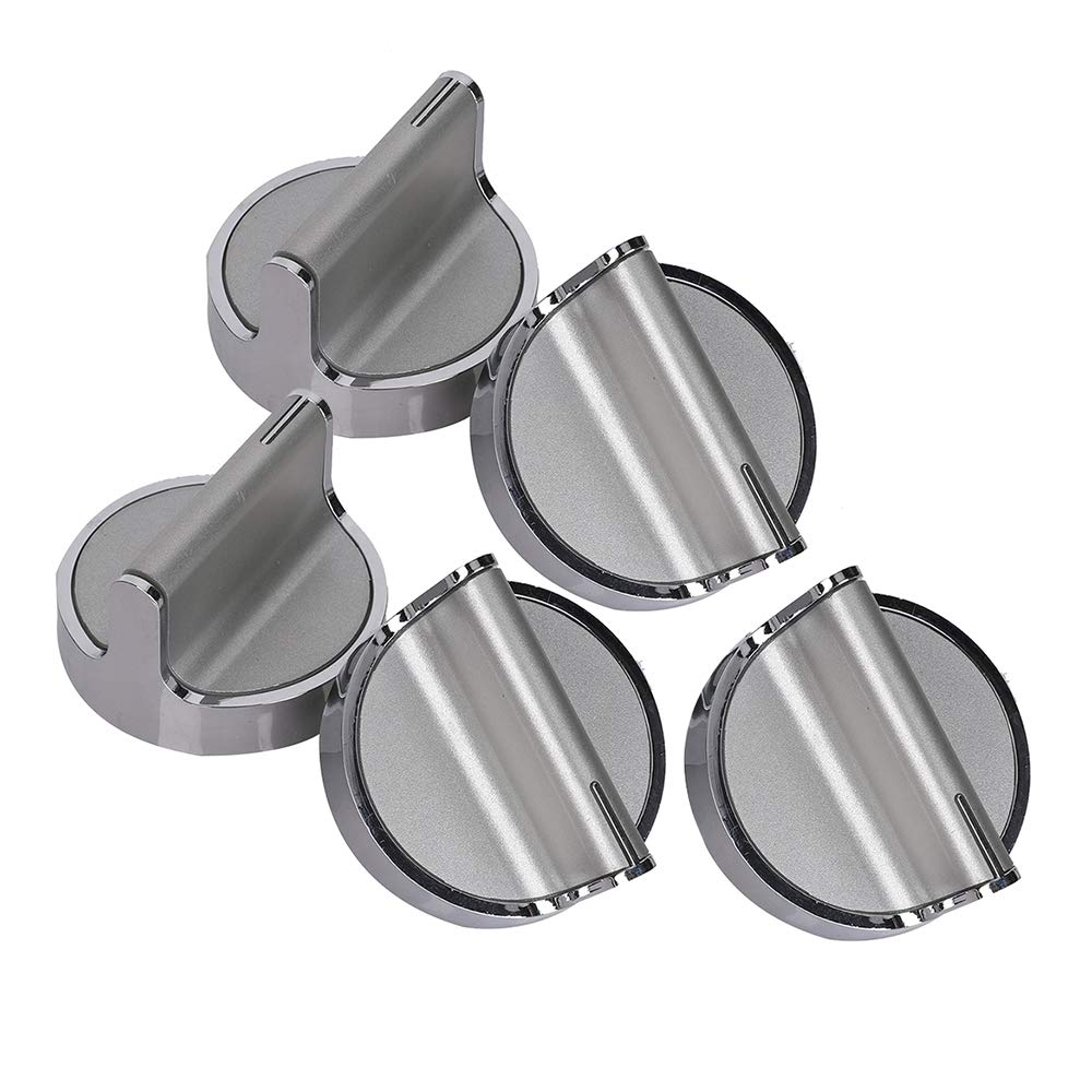 5 Pack W10594481 Knob for Whirlpool Stove/Range- Replace WPW10594481, AP6023301, PS11756643
