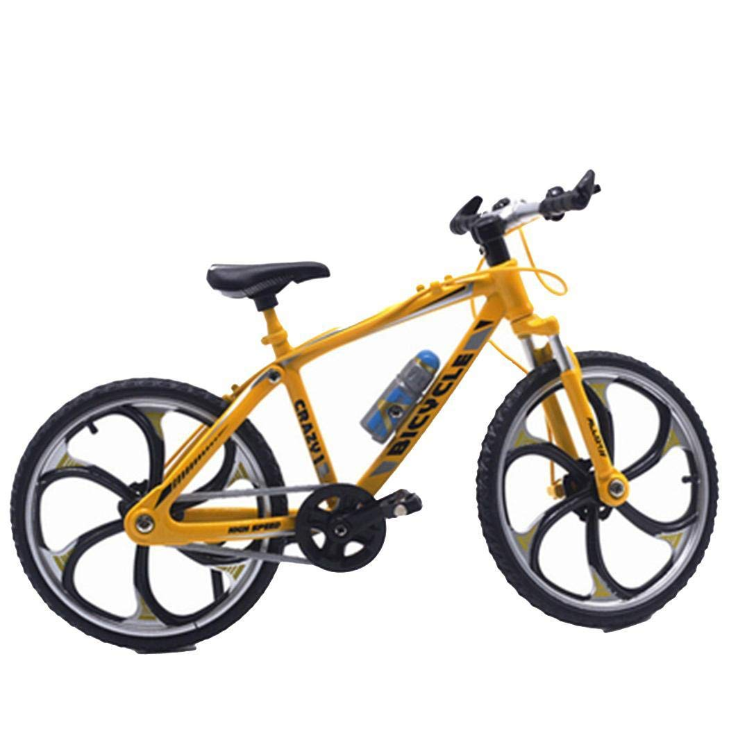 Qenci Mini Bicycle Model Simulation Bike Toy Ornaments Gift Bicycle Playsets