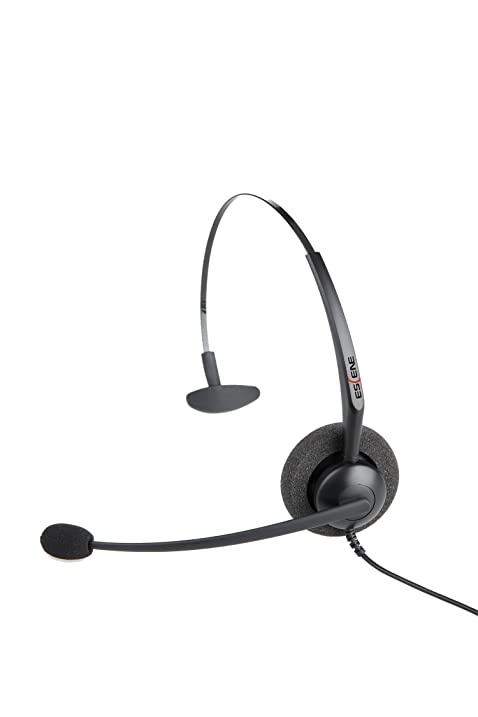Amazon.com : Escene Unilateral Wired Headset Wiith QD Wire : Voip ...