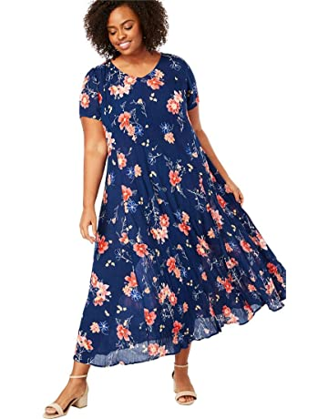 8b33868049b0 Woman Within Women s Plus Size Crinkle Dress