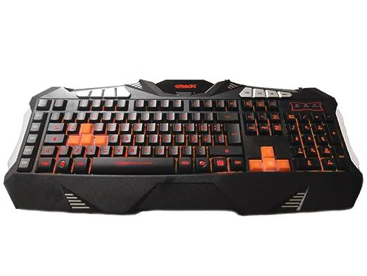 6 opinioni per Gammec KBGAG1 Tastiera Gaming, XCommand con Tasti Macro 64 KB , Backlight a 7
