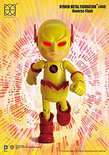 DC Comics Hybrid Metal Action Figure Reverse Flash 14 cm Herocross Figures