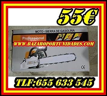 Desbrozadora de Gasolina 43cc: Amazon.es: Bricolaje y herramientas