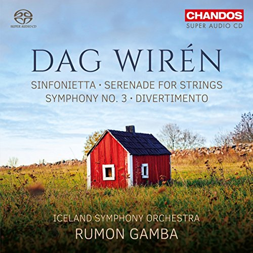 SACD : RUMON GAMBA - ICELAND SYMPHONY ORCHESTRA - Orchestral Works (Hybrid SACD)