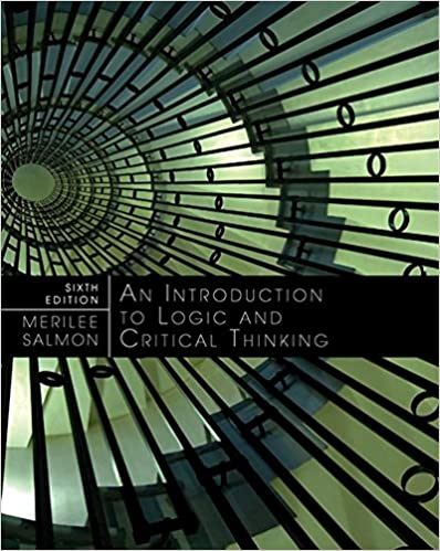 Amazon introduction to logic and critical thinking introduction to logic and critical thinking 6th edition fandeluxe Choice Image