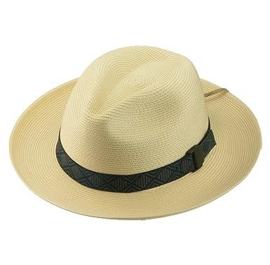 b610c4125fe48 Riverz Original Joe Fedora Water Friendly Packable UPF50+ TechStraw Hat  (Small)