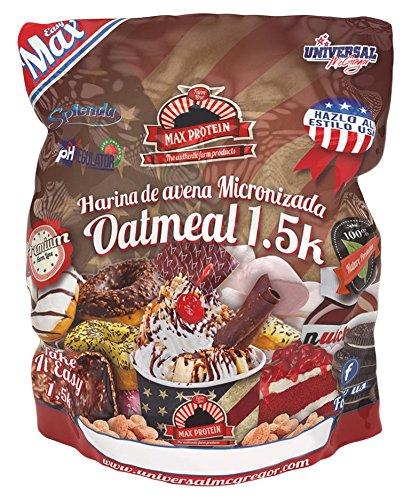 Max Protein Harina de Avena 1,5 kg Donut: Amazon.es: Salud y cuidado personal