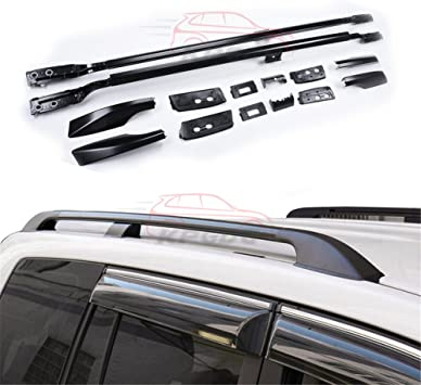 Roof Rack Rail Fit For Toyota Land Cruiser FJ200 LC200 2008-2017 Luggage