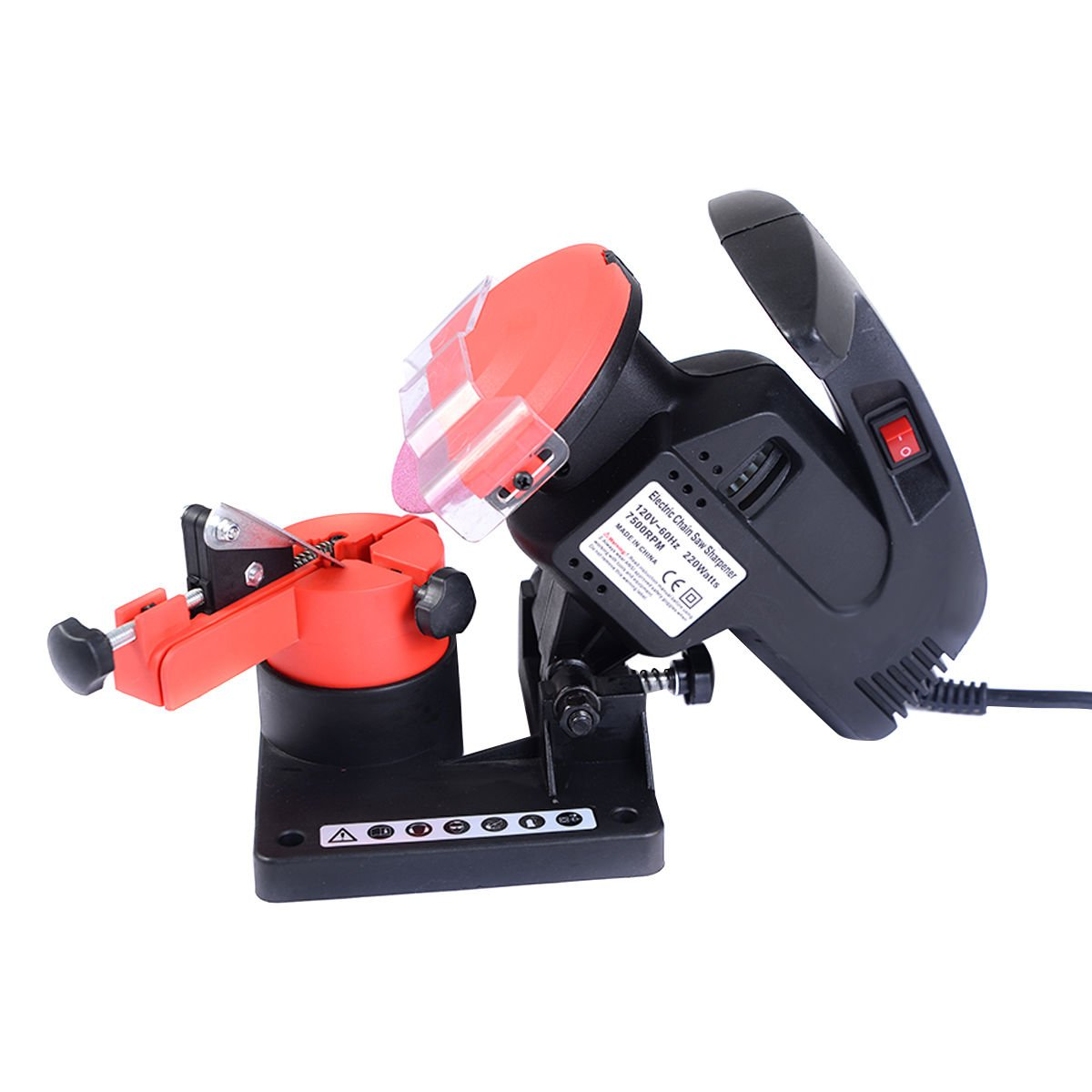 Portable Electric Chainsaw Sharpener Chain Blade Grinder 7500 RPM HD