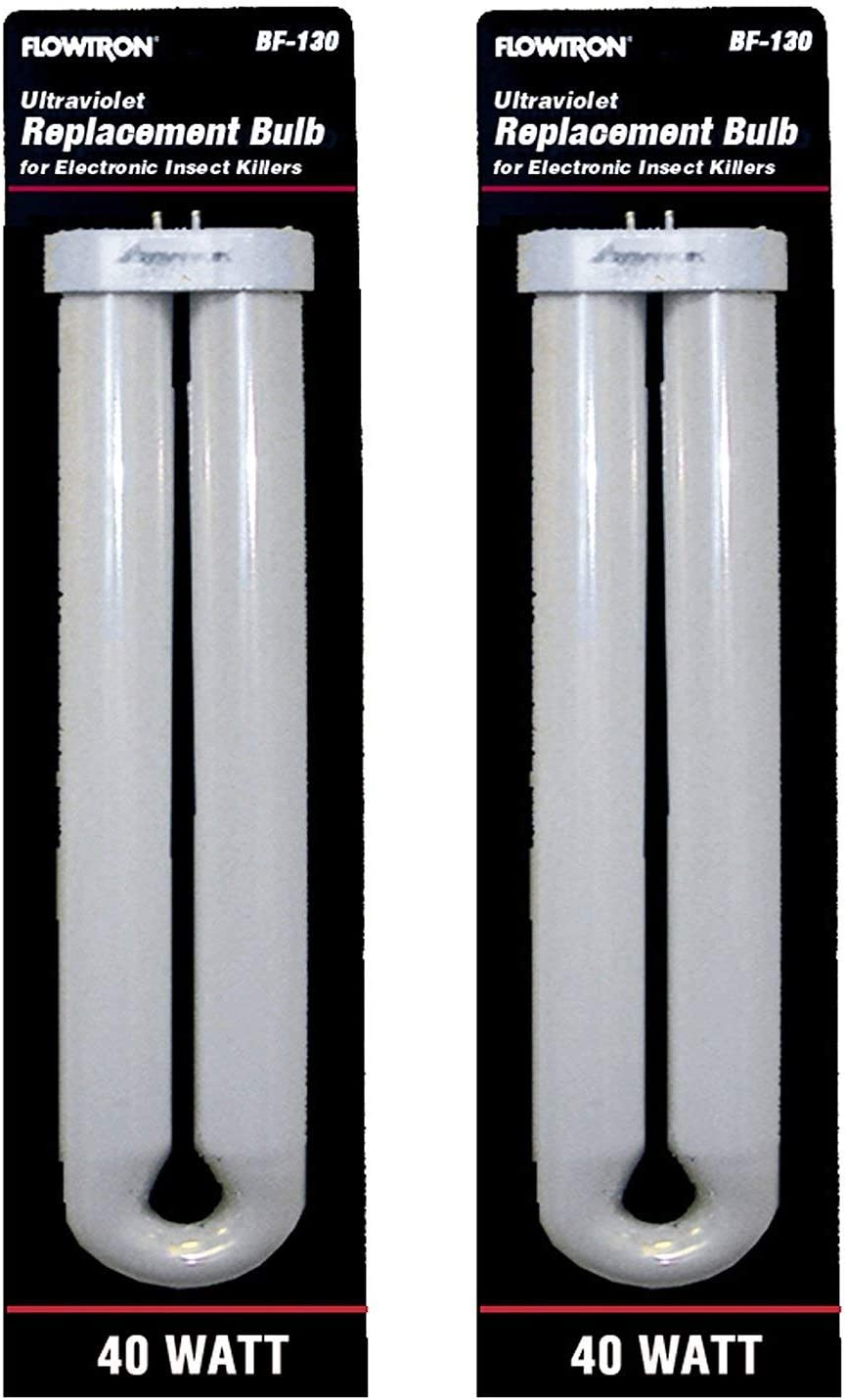 Flowtron BF-130 40 Watt U-Shape Replacement Bulb for FC7800 & FC8800 Models (Pack of 2)
