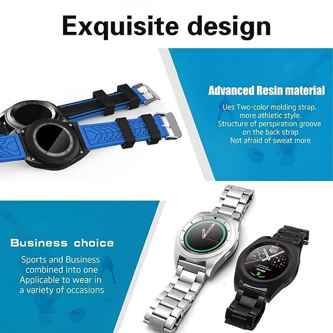 Smart Watch, Salud Vigilancia Sport Bluetooth Teléfono Reloj ...