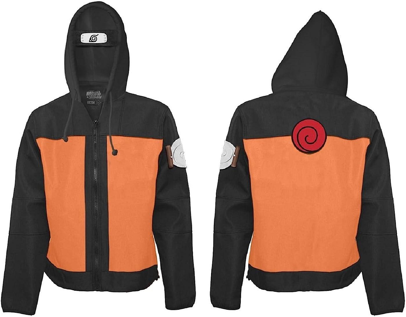 Naruto Shippuden Ninja Adult Zip Hoodie