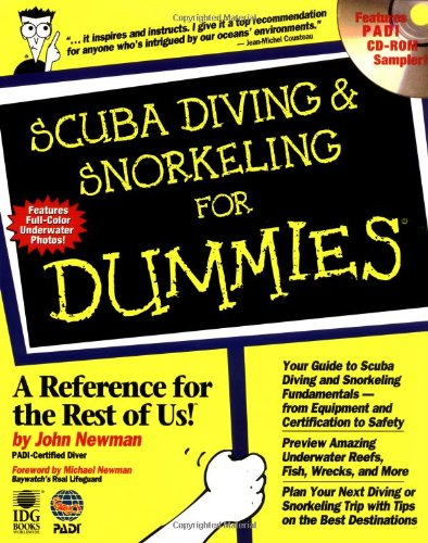 Scuba Diving and Snorkeling For Dummies by Innovative Scuba Concepts