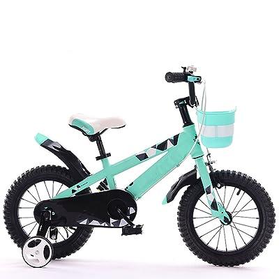 """Bicyclettes pour enfants, bicyclette pour enfant 12/14/16/18 pouces ( Color : Vert , Size : 12"""" )"""