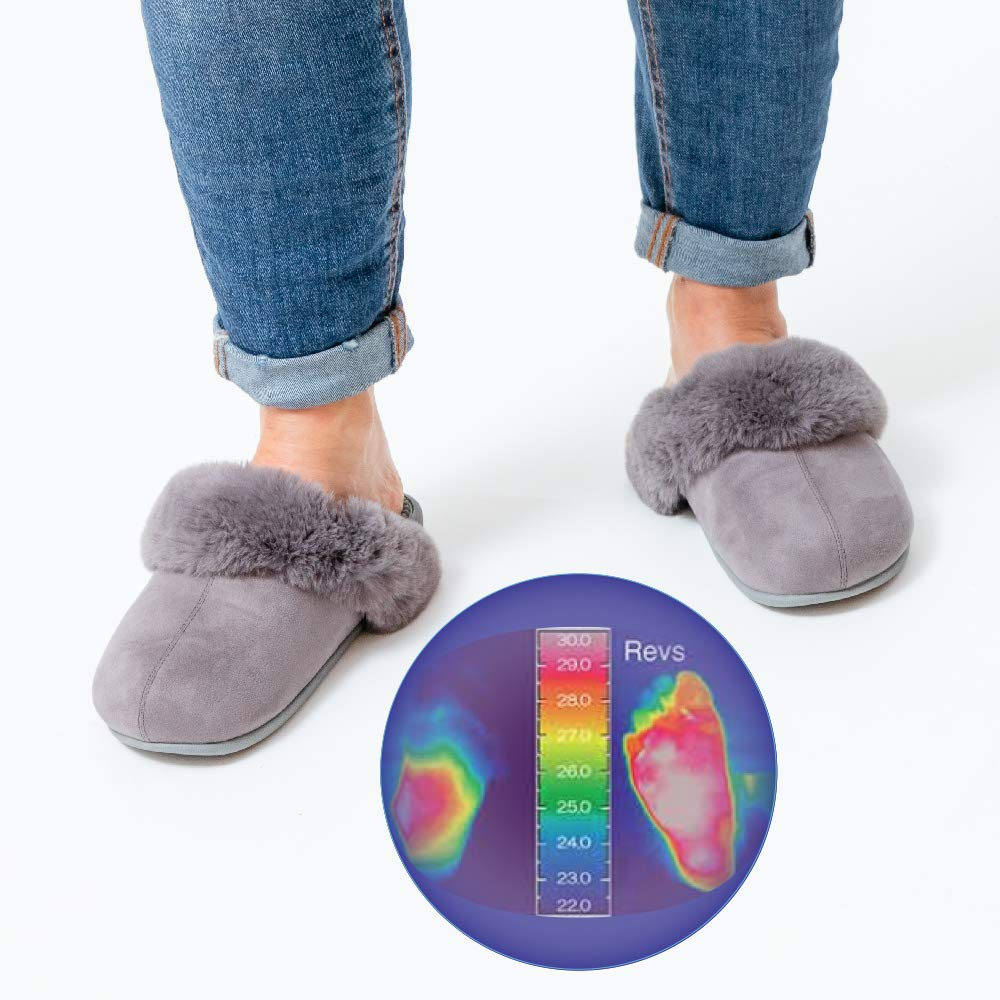 c561ce03b317 Amazon.com  Revs Premium Massage Slippers