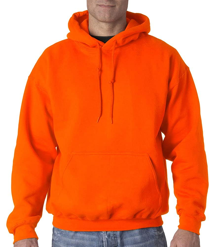Sfty Orange Gildan Adult DryBlend Performance Hooded Sweatshirt