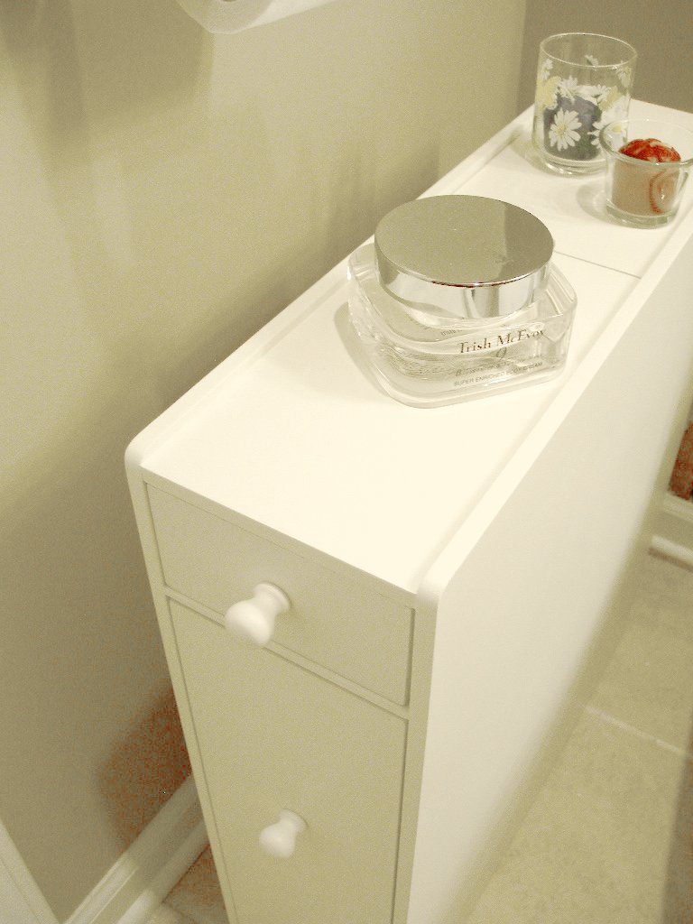 Proman Products Bathroom Floor Cabinet Wood in Pure White by Proman Products (Image #13)