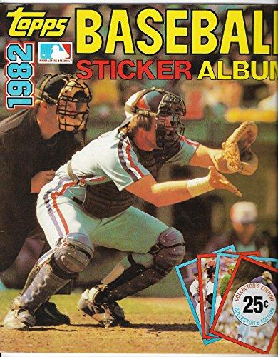 1982 Topps Baseball Sticker Album NO STICKERS - Baseball Topps 1982 Sticker