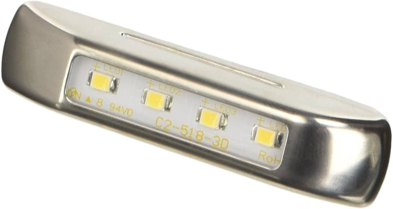 12//24V Lampa 41490 Luce Ingombro a 4 LED Bianco