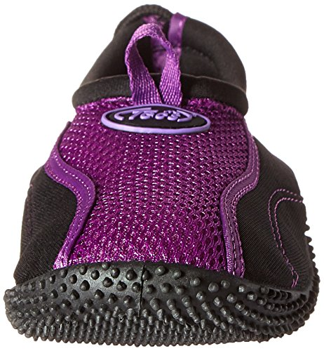 Tecs Womens Aquasock Water Shoe Viola / Nero