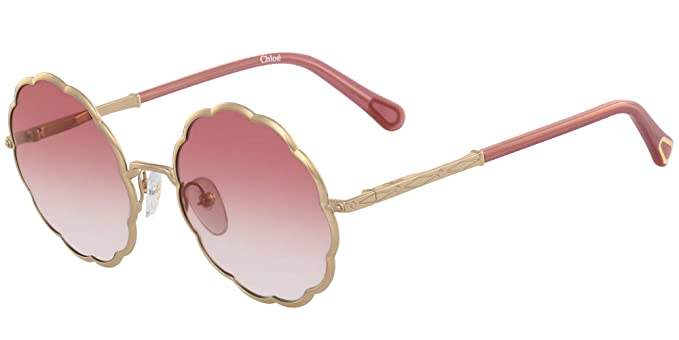 Gafas de Sol Chloé ROSIE CE3103S JUNIOR GOLD/BURGUNDY SHADED ...
