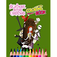Image for The Nightmare Before Christmas Coloring Book: Perfect Coloring Book,im Burton Coloring Book With Unofficial High Quality Images For Kids And Adults,