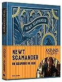 capa de Animais Fantásticos e onde habitam: Newt Scamander - O Scrapbook do Filme