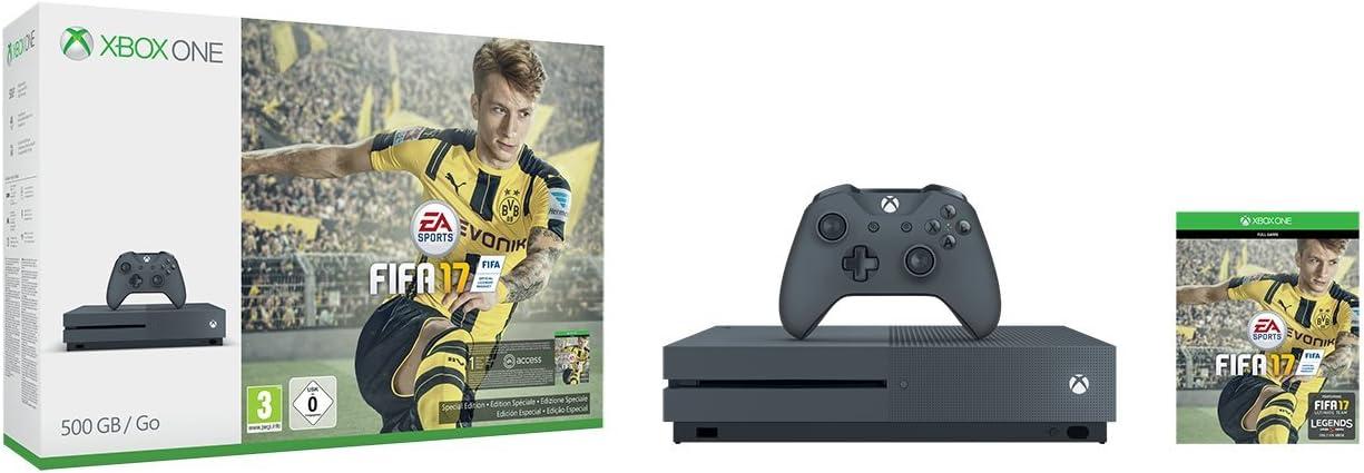 Xbox One -Pack Consola S 500 GB + FIFA 17 - Edición Exclusiva ...