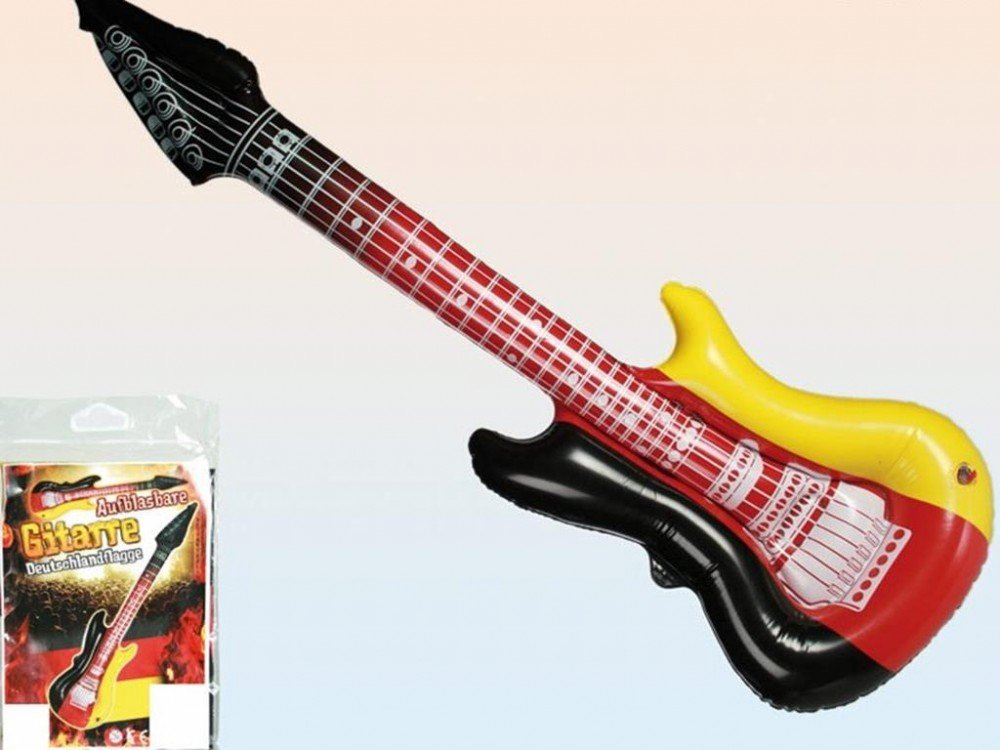 Guitarra hinchable 101 cm Alemania bandera de aire guitarra ...