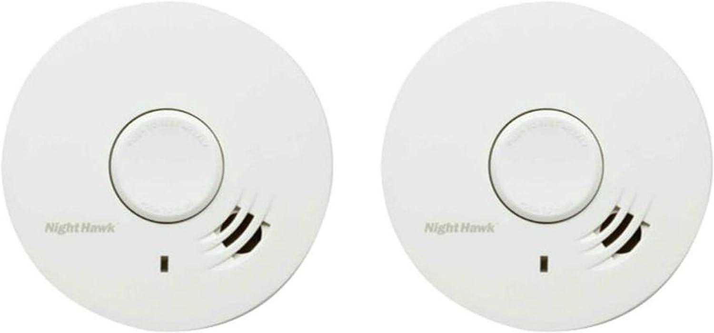 NIGHTHAWK 10 Year Smoke Alarm With in