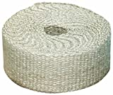 Heatshield Products 325002 Off White Inferno Wrap 1'' Wide x 50' Header Insulating Heat Wrap