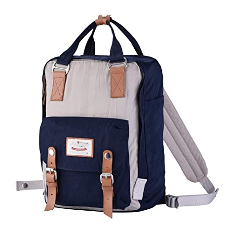 01eebb14f2 Image Unavailable. Image not available for. Color  Himawari School  Functional Travel Waterproof Backpack Bag for Men   Women ...
