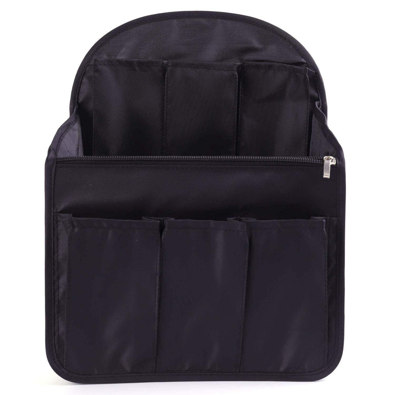 Luxja Backpack Organiser Felt Organiser Insert for Backpack Grey