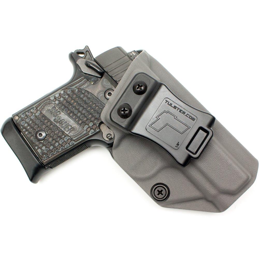 Tulster Sig P938 Holster IWB Profile Holster (Dark Grey - Right Hand)