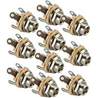Switchcraft Type 12A (Pack of 10) Stereo 2-Conductor Input Jack, 1/4, Double Open Circuit, Made in USA