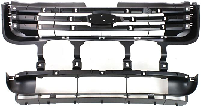 Perfect Fit Group 8435 Headlight Panel Assembly Grand Am Header Panel Abs Plastic