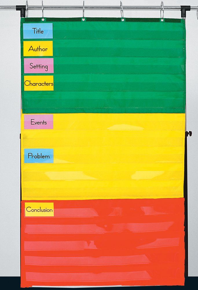 Adjustable Pocket Chart (Inglés) Productos de oficina – 1 oct 2001 Carson-Dellosa Publishing CARSON DELLOSA PUB CO 1604186658 5642