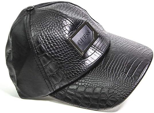 Guess - Gorra de béisbol para hombre, ajustable, color negro ...