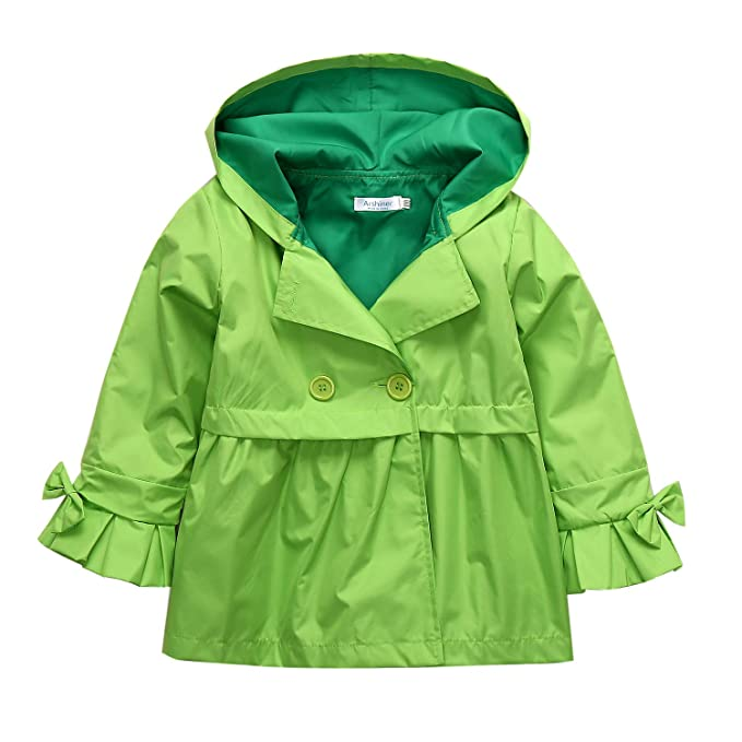 6e20b74a3 Amazon.com: Arshiner Boys Girls Waterproof Hooded Jackets Outwear ...