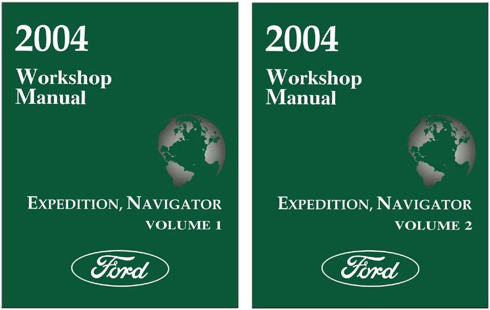 NAVIGATOR 2004 FACTORY REPAIR SERVICE MANUAL FOR FORD EXPEDITION