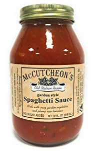 Mccutcheon, Sauce Spaghetti, 32 Fl Oz