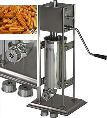 5L Manual español churro Panificadora comercial profesional churro eléctrica herramienta cocina cocina repostería CE