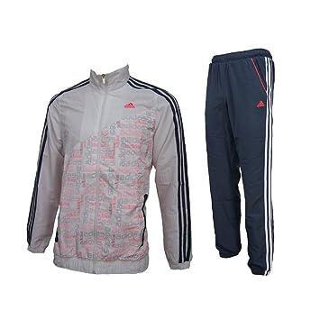 Adidas Survêtement Enfant - Blanc - 152 cm  Amazon.fr  Vêtements et ... bd0d44e6968