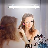 KOHREE Led-make-uplamp voor spiegel, draadloos, werkt op batterijen, dimbaar, 6500 K, 6 W, oplaadbaar via USB